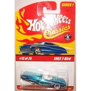 Hot Wheels Classic Series 1 1963 Ford T Bird #13 of 25 164 Scale