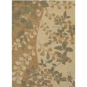 Feet 6 Inch by 5 Feet 6 Inch Flora Bella Area Rug, Gold Home