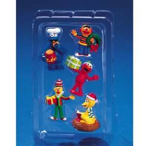 Sesame Street Assorted 5 Piece Set of Mini Christmas