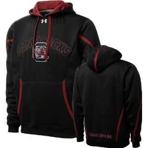 com South Carolina Gamecocks Black Under Armour Performance Football