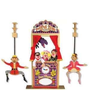 Melissa & Doug 2530 Deluxe Puppet Theater with Prince