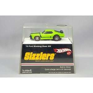 Hot Wheels Sizzlers Green 70 Ford Mustang Boss 302. Built