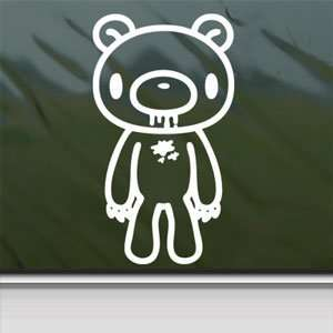Gloomy Bear Stand White Sticker Car Vinyl Window Laptop