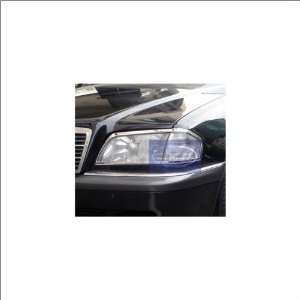 Zunden Trim Chrome Headlight Trim 94 97 Mercedes Benz C220 Automotive