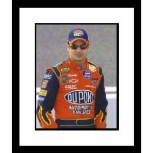 Jeff Gordon NASCAR Close Up Framed 8 x 10 Photograph