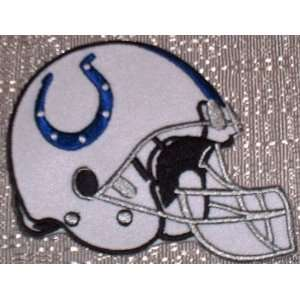 NFL INDIANAPOLIS COLTS 3 1/2 Embroidered HELMET Team PATCH