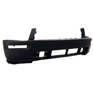 FD04239BB TY5 Ford Mustang Primed Black Replacement Front Bumper Cover