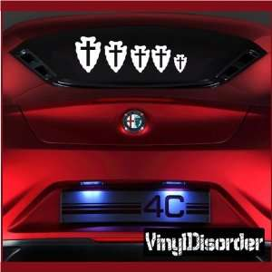 Decal Set Religious 02 Stick People Car or Wall Vinyl Decal Stickers