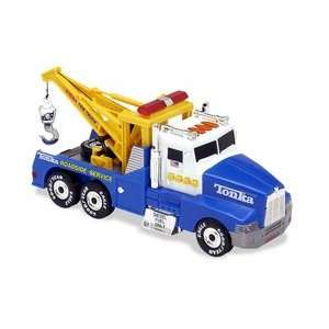 Tonka Light & Sound Tow Truck   Blue Toys & Games