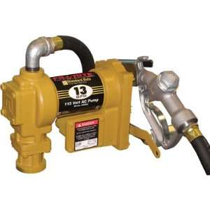 Fill Rite Fuel Transfer Pump   115 Volt AC, 13 GPM, Model# SD602NT