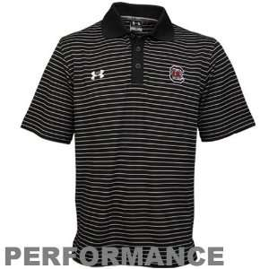 Under Armour South Carolina Gamecocks Black Gameday Polo