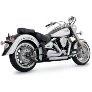 Vance And Hines Shortshots Staggered Exhaust For Yamaha XV1700A Road