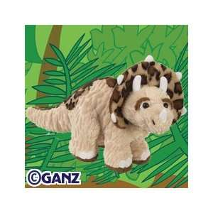 Webkinz Plush Stuffed Animal Triceratops Toys & Games