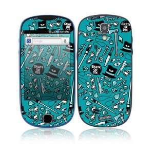 Skate or Die Decorative Skin Cover Decal Sticker for Samsung Gravity
