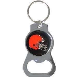 Cleveland Browns Bottle Opener Key Ring   NFL Football Fan Shop Sports