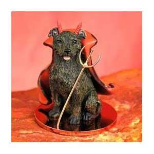 Staffordshire Bull Terrier Little Devil Dog Figurine