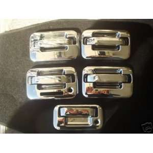 Mirror Polish Chrome Door Handle Cover   Ford F150 04 09 (with keypad