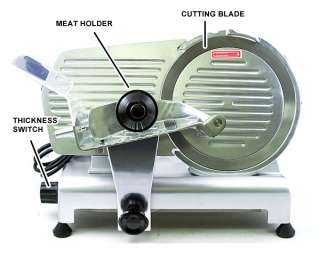New 12 Commercial Electric 420W Meat Deli Food Slicer