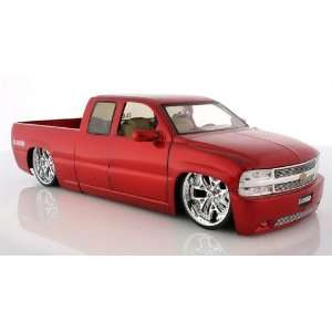 2002 Chevy Silverado Diecast Model Pick Up Truck   118