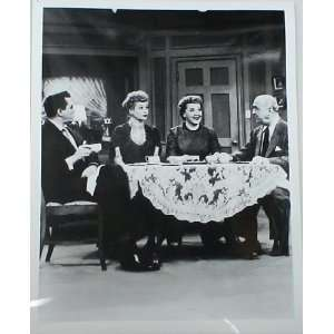 LUCILLE BALL DESI ARNAZ VIVIAN VANCE WILLIAM FRAWLEY