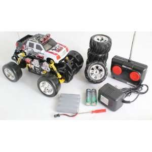 Truck, Remote Control Monster Truck with Extra Grip Tires and