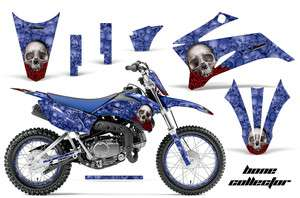 AMR RACING OFF ROAD NUMBER PLATE BACKGROUND DECAL KIT YAMAHA TTR 110