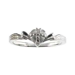 Sterling Silver Gift Wrapped Heart Christian Purity Ring Jewelry